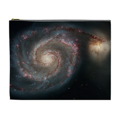 Whirlpool Galaxy And Companion Cosmetic Bag (XL)