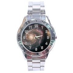 Whirlpool Galaxy And Companion Stainless Steel Analogue Watch