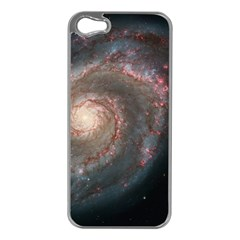 Whirlpool Galaxy And Companion Apple iPhone 5 Case (Silver)
