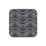 Pattern Rubber Coaster (Square)  Front