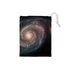 Whirlpool Galaxy And Companion Drawstring Pouches (Small)