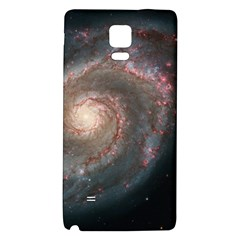 Whirlpool Galaxy And Companion Galaxy Note 4 Back Case