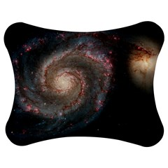 Whirlpool Galaxy And Companion Jigsaw Puzzle Photo Stand (Bow)
