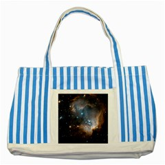 New Stars Striped Blue Tote Bag