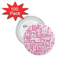 Pink pattern 1.75  Buttons (100 pack)