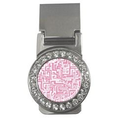Pink pattern Money Clips (CZ)
