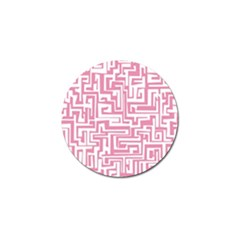 Pink pattern Golf Ball Marker (4 pack)