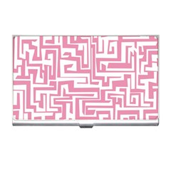 Pink pattern Business Card Holders