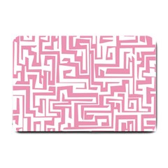 Pink pattern Small Doormat