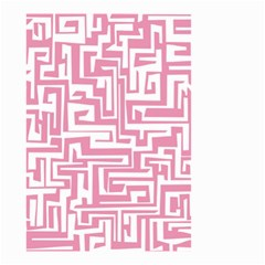 Pink pattern Small Garden Flag (Two Sides)
