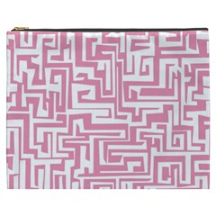 Pink pattern Cosmetic Bag (XXXL)