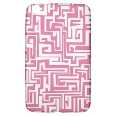 Pink pattern Samsung Galaxy Tab 3 (8 ) T3100 Hardshell Case