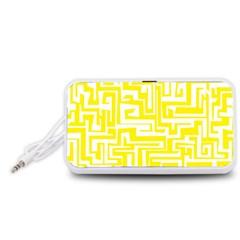 Pattern Portable Speaker (White)