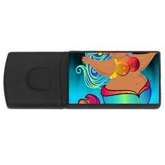 Mermaids Heaven USB Flash Drive Rectangular (2 GB)