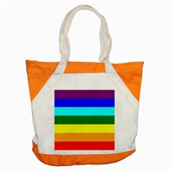 Rainbow Accent Tote Bag