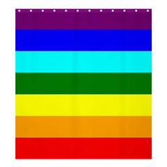 Rainbow Shower Curtain 66  x 72  (Large)