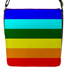 Rainbow Flap Messenger Bag (S)