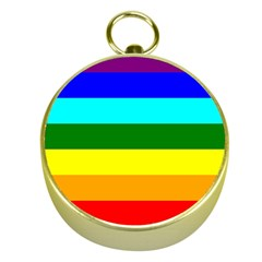 Rainbow Gold Compasses