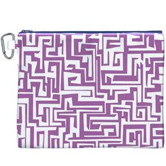 Pattern Canvas Cosmetic Bag (XXXL)