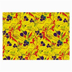 Floral pattern Large Glasses Cloth