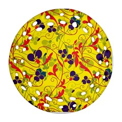 Floral pattern Ornament (Round Filigree)
