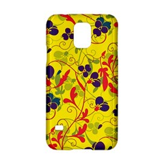 Floral pattern Samsung Galaxy S5 Hardshell Case