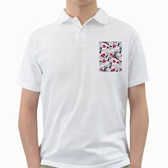 Floral pattern Golf Shirts