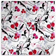 Floral pattern Canvas 20  x 20