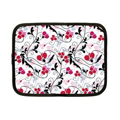 Floral pattern Netbook Case (Small)