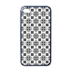 Pattern Apple iPhone 4 Case (Black)