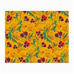 Floral pattern Small Glasses Cloth (2-Side) Back