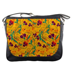 Floral pattern Messenger Bags