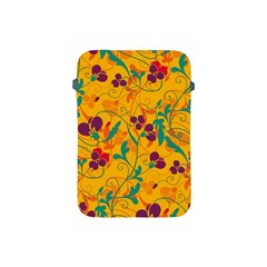 Floral pattern Apple iPad Mini Protective Soft Cases