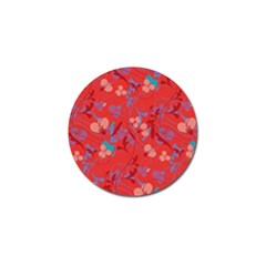 Floral pattern Golf Ball Marker (4 pack)