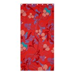 Floral pattern Shower Curtain 36  x 72  (Stall)  33.26 x66.24 Curtain
