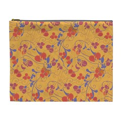 Floral pattern Cosmetic Bag (XL)