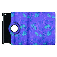 Floral pattern Apple iPad 2 Flip 360 Case