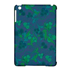 Floral pattern Apple iPad Mini Hardshell Case (Compatible with Smart Cover)