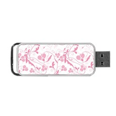 Floral pattern Portable USB Flash (Two Sides)