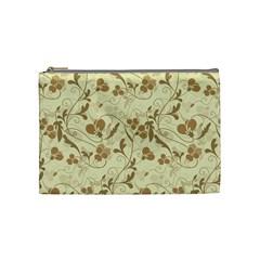 Floral pattern Cosmetic Bag (Medium)