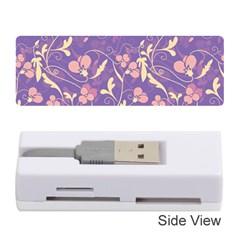 Floral pattern Memory Card Reader (Stick)