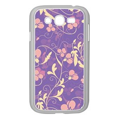 Floral pattern Samsung Galaxy Grand DUOS I9082 Case (White)