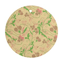Floral pattern Ornament (Round)