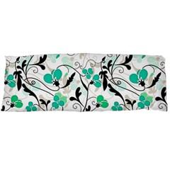Floral pattern Body Pillow Case (Dakimakura)