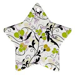 Floral pattern Ornament (Star)