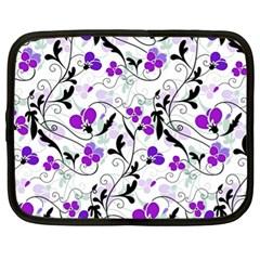 Floral pattern Netbook Case (XL)