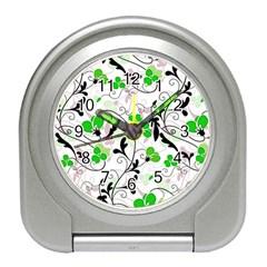 Floral pattern Travel Alarm Clocks