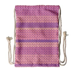 Pattern Drawstring Bag (Large)