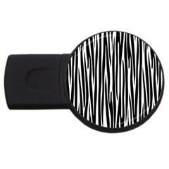 Zebra pattern USB Flash Drive Round (4 GB)