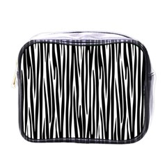 Zebra pattern Mini Toiletries Bags